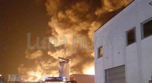 Cintura: tre incendi in meno di 20 ore nelle aree industriali