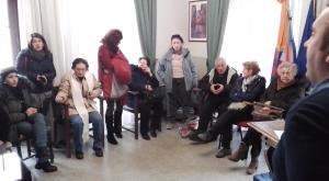 Bussoleno, in municipio la rabbia di una sfollata di via San Lorenzo