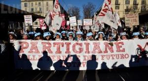 Torino No Tav: tutti i volti e i colori dell'8 dicembre