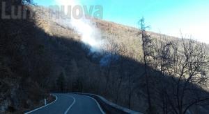 Capodanno di fuoco, tornano le fiamme in valle di Susa