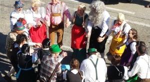 S.Ambrogio: sfila il Carnevale dei Borghi