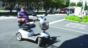 Collegno: disabile cade, ma viene multato