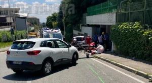 Rivoli: schianto in corso Einaudi, muore un motociclista