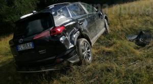 L'auto si ribalta al Frais, muore noto imprenditore di Bussoleno