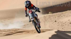 Grande Zacchetti: il giavenese (38°) è il primo degli italiani alla Dakar 2021