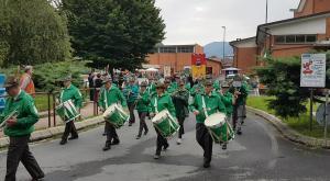 Borgone in festa per i 90 anni del gruppo Alpini