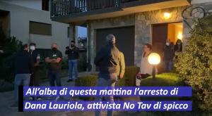 No Tav: l'arresto di Dana Lauriola e le tensioni con la polizia