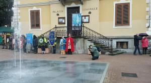 S.Ambrogio: la nuova veste di piazza XXV Aprile