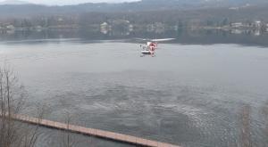 Avigliana, recuperato il corpo di un uomo nel lago Grande