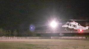 Borgone: inaugurato il volo notturno dell'elisoccorso