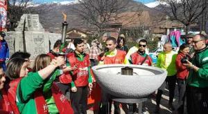 Chiusa S.Michele: il Torch Run per gli Special Olympics