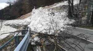 Venaus: un'altra valanga, statale 25 del Moncenisio bloccata