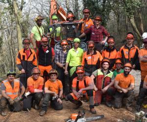 Villarfocchiardo: in Banda l'università della foresta