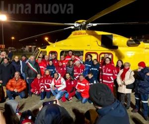 Giaveno: elicotteri anche di notte per i soccorsi