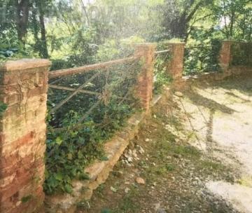 Rivalta, balaustre, vasi e pilastrini del Castello: pronto un restauro da 170mila euro