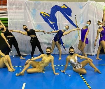 Il twirling abbatte il muro del Covid in una gara storica e piena di speranza