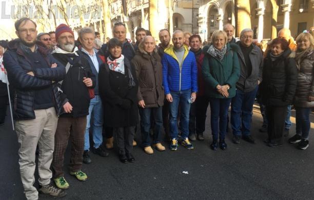 I sindaci No Tav a Torino al fianco di Nicoletta Dosio