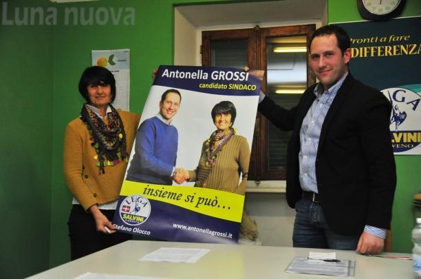 Antonella Grossi è il candidato sindaco della Lega