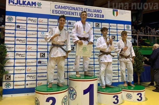 Nicolò Manusia porta a Giaveno il tricolore Under 15