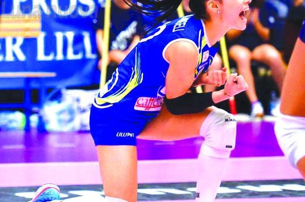 La vita è un set: Francesca Parlangeli e il picco del volley