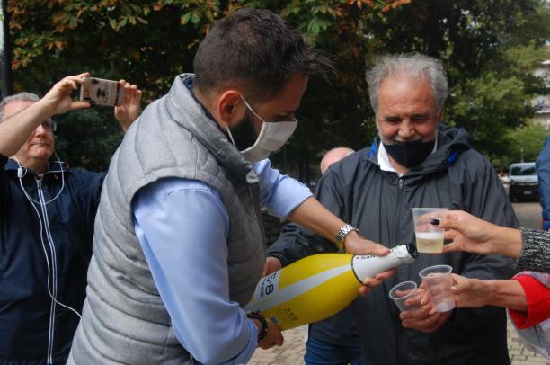 Alpignano, Palmieri domina e guarda al ballottaggio